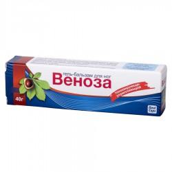 Гель-бальзам для ног Веноза 40 г по цене от 108,00 рублей, купить в аптеках Сочи, Веноза 40 г